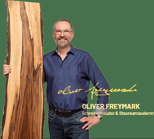 Oliver Freymark - Schreinermeister - Stauraumzauberer Freiburg - ProNatura Bettsysteme Freiburg