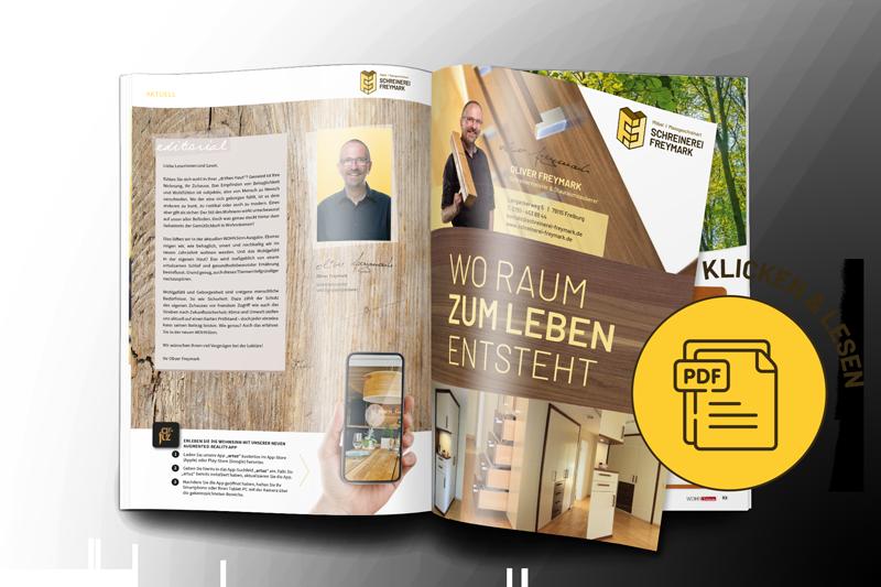 Wohnsinn - Oliver Freymark - Schreinermeister - Stauraumzauberer Freiburg - ProNatura Bettsysteme Freiburg