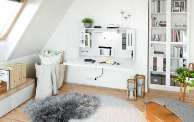 Praktischer Arbeitsplatz zu Hause aus der Schreinerei Freymark Freiburg